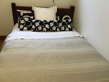 Double Bed Wood Frame and King Koil Mattress Sans Souci Rockdale Area Preview