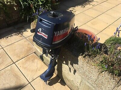 Yamaha 4hp Outboard Engine  - 2 Stroke - Short Shaft