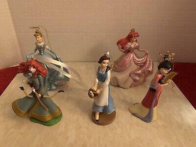 Lot Of 5 Disney Ornaments