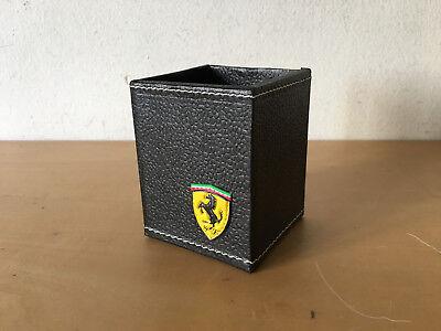 Usado, New - FERRARI Black Cardboard PENCIL BOX  LAPICERO de Cartón Negro - Nuevo segunda mano  Embacar hacia Argentina