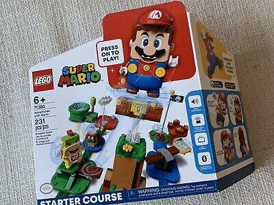 SEALED, BRAND NEW LEGO Super Mario Adventures Mario Starter Course (71360)