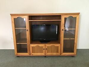 Solid Pine Wall Unit Condon Townsville Surrounds Preview