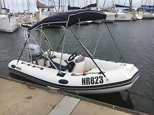RIB Brig 4.0m with NEW 30hp Honda, Bimini & Trailer Dromana Mornington Peninsula Preview