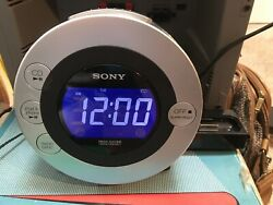 Sony ICF-CD31P Dream Machine CD IPod Am/ Fm Radio Alarm Clock, GREAT SHAPE