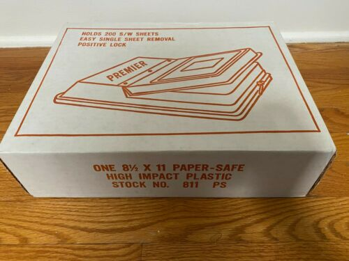 """Premier 8.5x11"""" Paper Safe, Light-tight Protection for Film and Paper #811PS"""