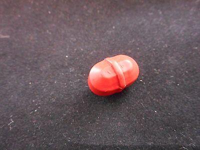 Lab Ptfe Teflon Magnetic Stir Stirring Bar Octagon Wpivot Ring 12 X 38 Red