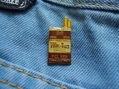 Pin Winston Zigaretten Cigarettes R.J.Reynolds Tobacco USA