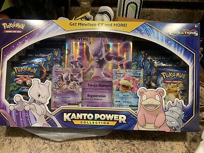Pokemon TCG: Kanto Power Collection Box Mewtwo EX XY Evolutions Factory Sealed