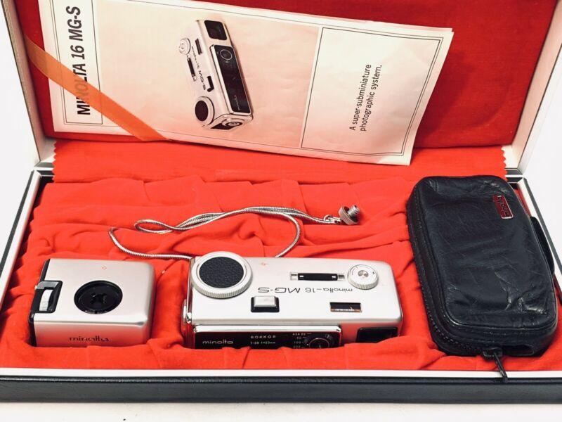 Minolta 16, Minolta 16 MG-S, Minolta Hard Case