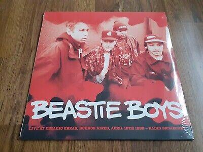 BEASTIE BOYS - LIVE BUENOS AIRES 1995 RADIO BROADCAST LP NEW SEALED