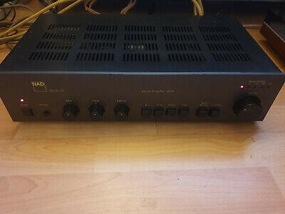 NAD 3020 Series 20 integrated RIAA phono stereo amplifier, original, vintage