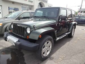 Jeep Wrangler Unlimited Sahara 2011 ~ SEULEMENT 58,544 KM !