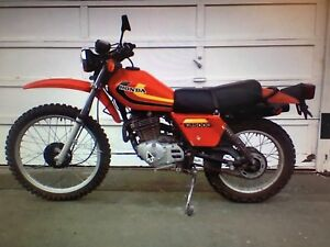 Looking to buy a 1979 XL500 Honda Trail bike.