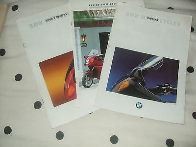 BMW Motorcycle Equipment & Tourers & Sports Tourers Brochures