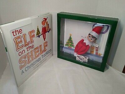 Elf on the Shelf A Christmas Tradition Blue-Eyed Boy Doll and Book
