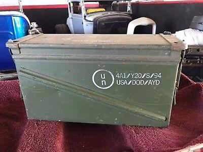 Ammo Can 40mm Box U.S. Army Ammunition Metal Storage CZE94C005-008