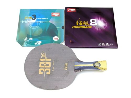 Assembled Table Tennis Racket DHS H3 NEO Provincial + Hurricane 8 + H301X