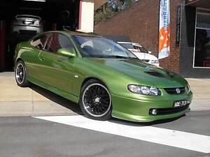 2002 Holden Monaro Coupe. CV8 MONARO. Caldermeade Cardinia Area Preview