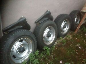 Toyota Hilux tyre & rims (4) Eastwood Ryde Area Preview