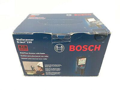 BRAND NEW Bosch D-Tect 150 Wall & Floor Scanner Ultra Wide Band Radar Technology
