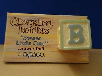 Cherished Teddies, Sweet Little One Drawer Pull, 203750,