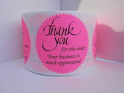 36 sticker labels,  Thank you for the order Your business is much appreciated
