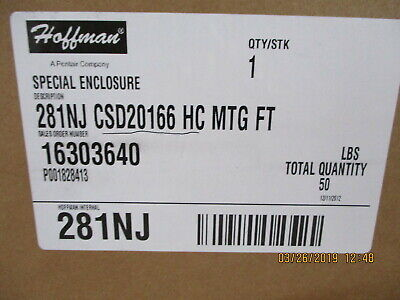 CSD20166 Hoffman BOX STEEL GRAY 20