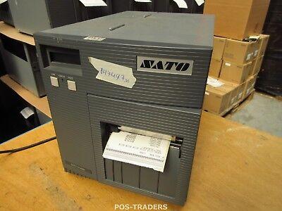 """SATO CL408E Parallel Thermo Label Drucker REWINDER 203dpi 4.1"""" 104mm - 14749.7 M"""