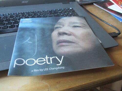 Lee Changdong POETRY Pressbook CANNES 2010