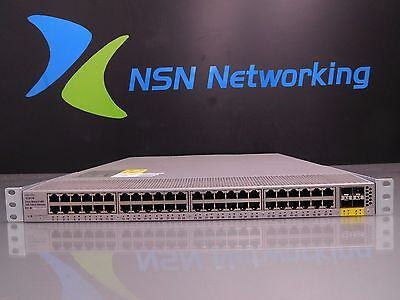 - Cisco Nexus 2148T 1GE Fabric Extender N2K-C2148T-1GE V02 Single PS N2K-PAC-200W