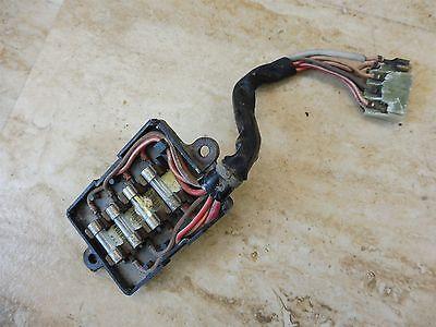 1975 Yamaha XS500 XS 500 Y661' fuse panel part