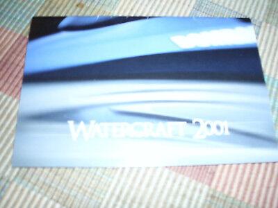2001 SeaDoo Watercraft Sales Brochure RX DI XP GS GTX GTI GTS LRV NICE 297000572