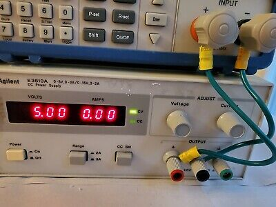 Agilent Hp E3610a Dc Power Supply Dual Range 0-8 V 3a 0-15v 2a - Load Tested