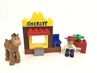 Disney Pixar Toy Story 3 Lego Duplo 5657 Jessie's Round Up w/Bullseye