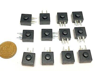 12 X Latching Push Button Switch Smd Onoff Flashlight Mini Small Torch 1a B27