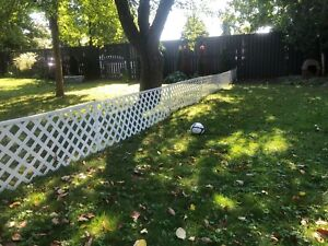 "24"" high lattice Fencing"