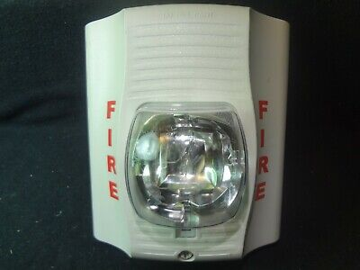 System Sensor Sw Selectable White Fire Alarm Strobe Free Shipping
