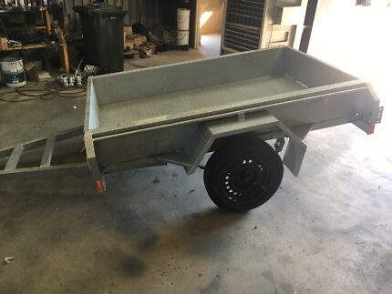 new off road trailer heavy duty tray galv sub frames licensed