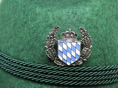 Bavarian Shield with Crown  Oktoberfest/German Military Hat Pin