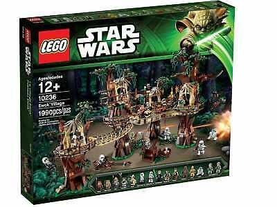 Lego Star Wars 10236 Ewok Village Retired & Rare Item The Best Reasonable Price