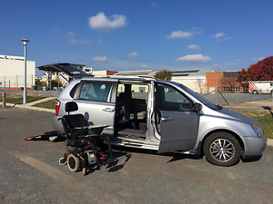 Wheelchair Kia Grand Carnival Wagon * PLUS * TDX Power wheelchair Kingston South Canberra Preview