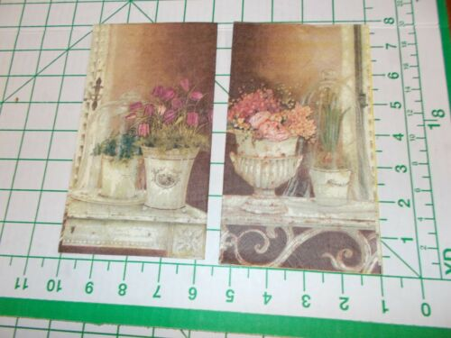 Two Decorative Napkins for Decoupage 2-ply