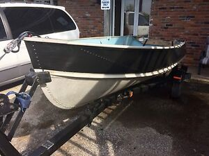 12' Thornes Aluminum Boat
