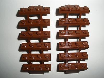 ////   LEGO  2  braune  LEITERN / TREPPEN   Neuware
