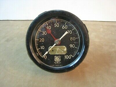 Vintage Ashcroft 5 0 To 100 Psi Pressure Gauge Steampunk Plastic