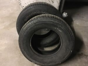 2 winter/all season tires - 245/70R16 - excellent condition