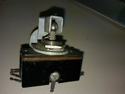 Heavy Duty Nos On Lock Off On Lock Toggle Switch With Add On Bracket