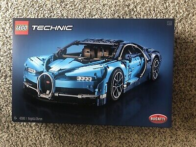 LEGO 42083: TECHNIC BUGATTI CHIRON **FACTORY SEALED BOX** In Hand Ready to Ship