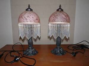 2 x Bedside Table Lamps Highton Geelong City Preview