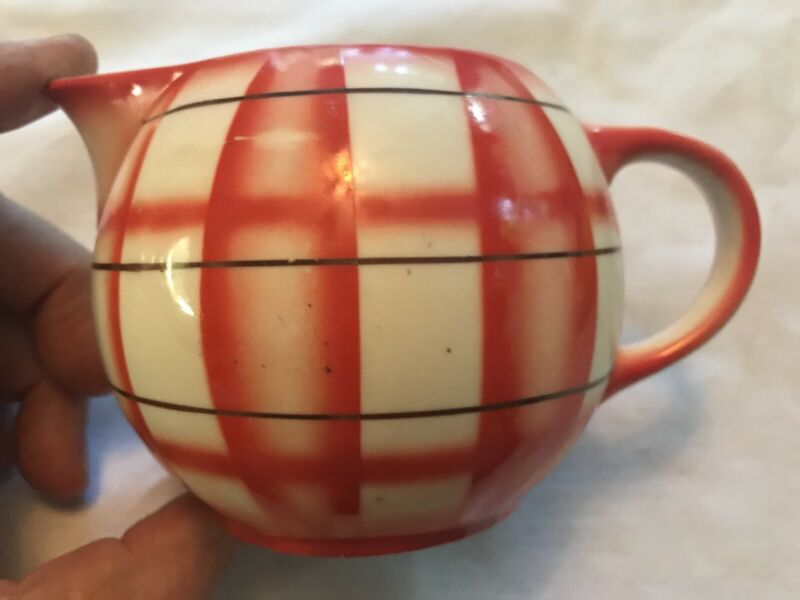ERPHILA Vintage Ceramic Creamer, Made In Czeckosolvakia
